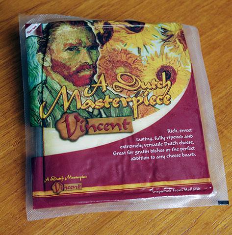 Dutch Masterpiece Vincent van Gogh cheese