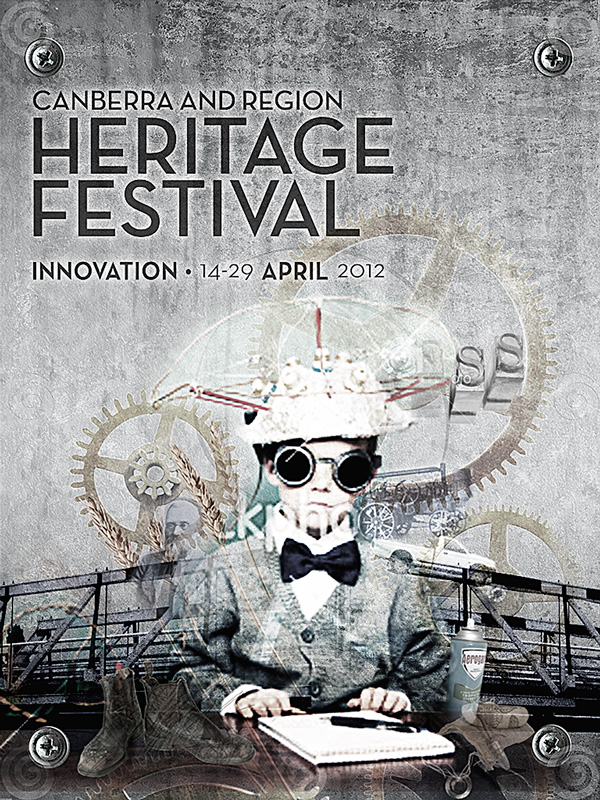 """Canberra and Region Heritage Festival ID """"heavy metal"""""""