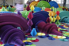 Sydney Biennale - Li Hongbo - Ocean of Flowers