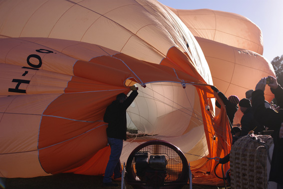 Skywhale - Blowing a lot of hot air