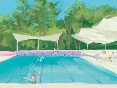 cate riley - Hornsby Pool