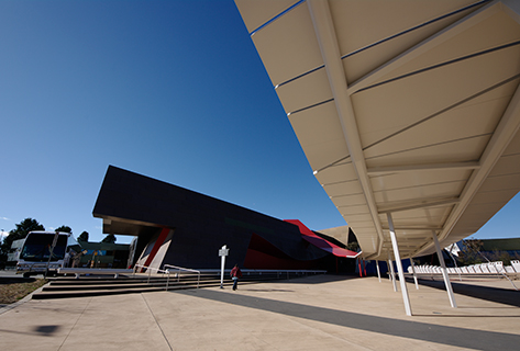 fad studios photography - National Museum of Australia - exterior