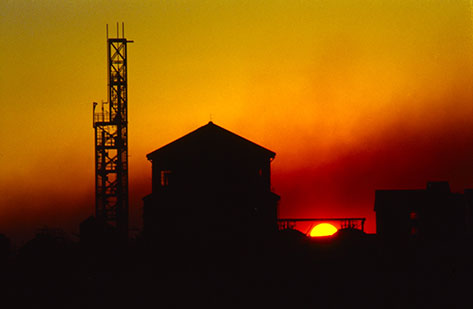 fad studios photography - Industrial Sunset 1