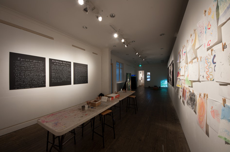 The Riley family - Installation View